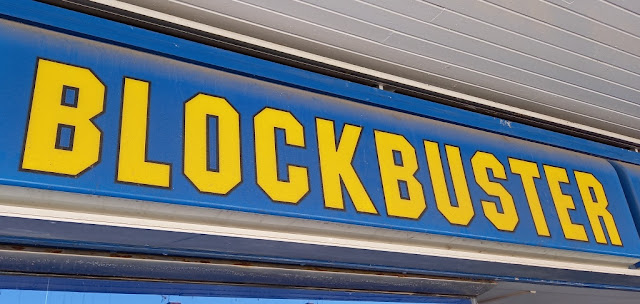 Blockbuster Video in Billingham, Teesside