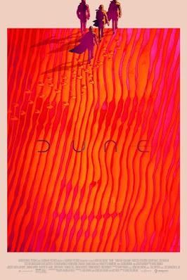 Mondo's Dune Screen Print Series by Greg Ruth, Tradd Moore & Akiko Stehrenberger