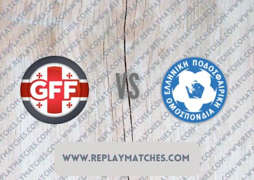 Georgia vs Greece Highlights 09 October 2021