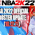 NBA 2K22 OFFICIAL ROSTER UPDATE 10.12.21 (LATEST TRANSACTIONS AND LINEUPS)