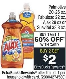 Ajax Dish Soap CVS Deal