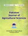 Pakistan Journal of Agricultural Sciences
