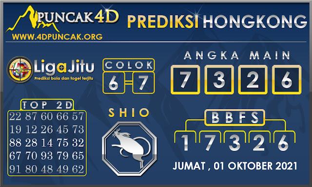 PREDIKSI TOGEL HONGKONG PUNCAK4D 01 OKTOBER 2021