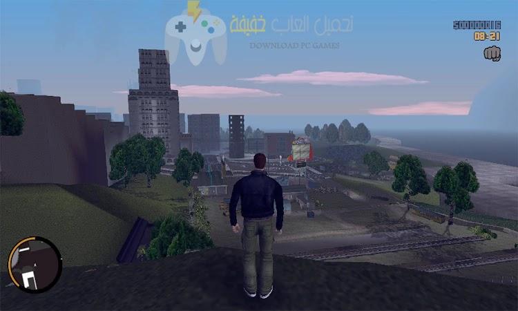 تحميل لعبة جاتا 3 GTA للكمبيوتر بحجم صغير