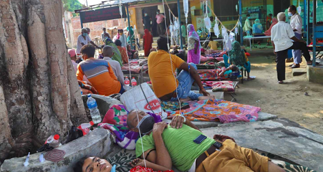 35-Bedded Hospital, 305 Patients: Receiving Treatment at Home Beds
