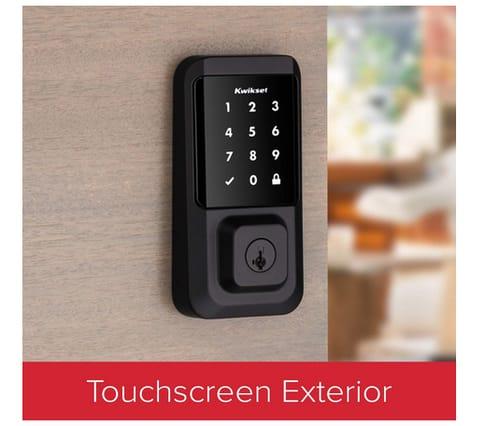 Kwikset 99390-004 Halo Wi-Fi Smart Lock Keyless Entry