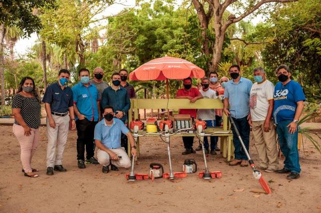 Prefeitura recebe equipamentos que vão fortalecer os serviços de limpeza pública em Santarém
