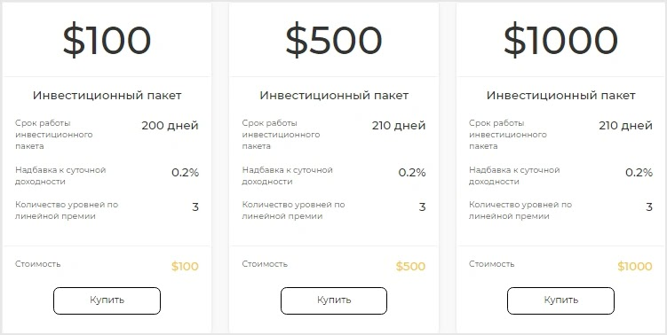 Инвестиционные планы Mirax 2