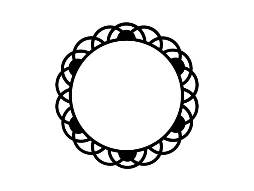 Free Acrylic Keychain SVG Cut Files and Pattern