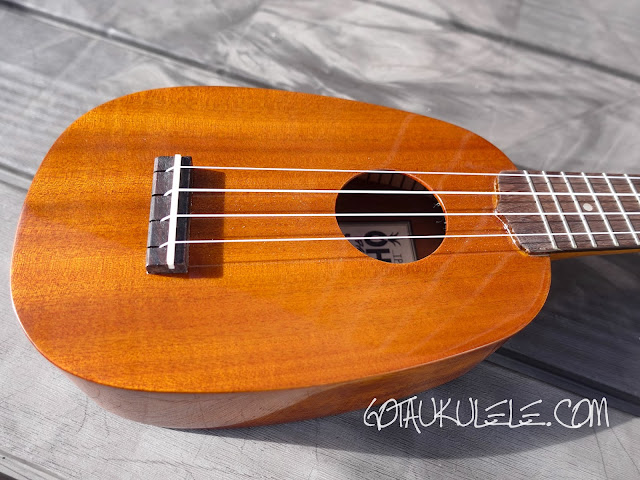 Ohana TPK-25G Sopranino ukulele body