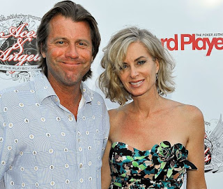 Betsy Russell with her ex-spouse Vincent Van Patten