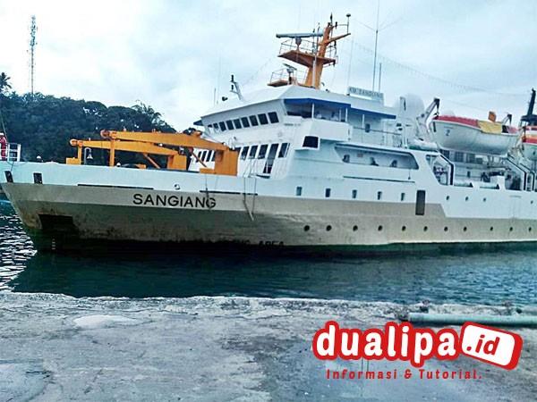 Jadwal Kapal Pelni KM Sangiang Bulan Oktober 2021