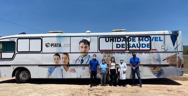 """Prefeitura de Piatã inicia  atividades do programa """"A saúde mais perto de você"""""""