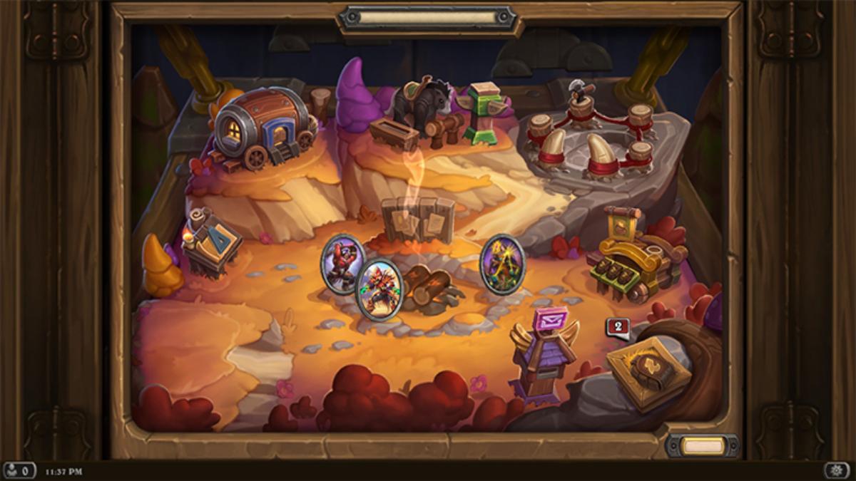 Village, central hub of Mercenaries mode