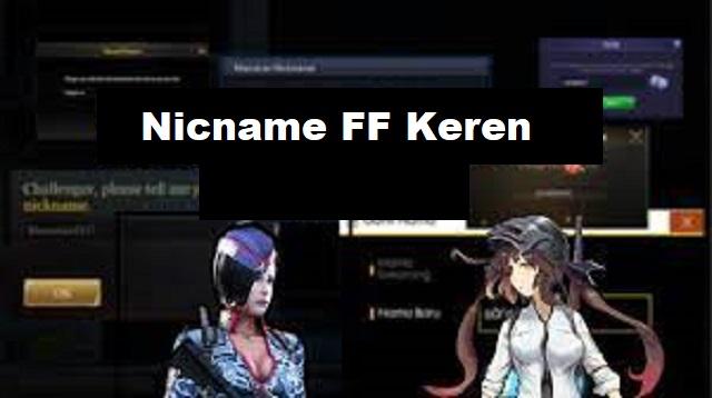 Nickname FF Keren