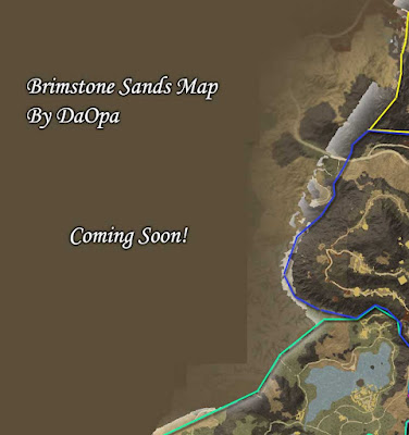 brimstone sands location and resource map