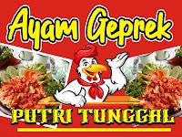 Desain Spanduk Ayam Geprek cdr free Download