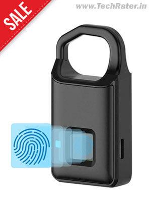 MIni Fingerprint Padlock (Strongest Aluminium Alloy)