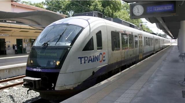 Εκτροχιασμός τραίνου έξω από τον Σιδηροδρομικό Σταθμό Θεσσαλονίκης