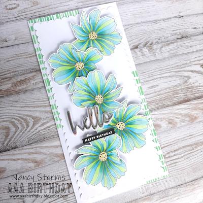 Alex Syberia - Beautiful Flowers Slimline