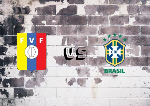Venezuela vs Brasil  Resumen y Partido Completo