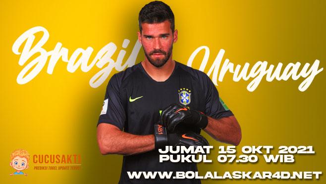 Prediksi Bola Brasil vs Uruguay Jumat 15 Oktober 2021