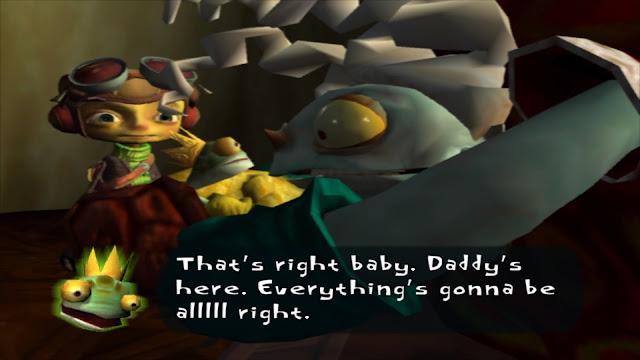 Screenshot of Mr Pokeylope from Psychonauts