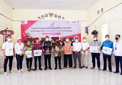 OJK Lampung Gelar Sekolah Pasar Modal dan Edukasi Desa Sadar Asuransi di Lampung Selatan