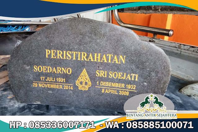 Nisan Makam Batu Kali, Nisan Batu Kali, Nisan Batu Kali Siap Kirim Ke Jawa Barat