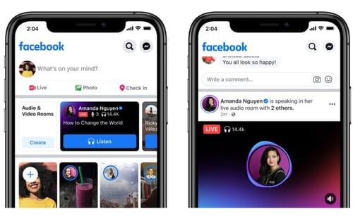 Facebook brings Live Audio to more creators
