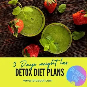 3 days detox diet plans for best weight loss
