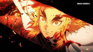 鬼滅の刃 無限列車編アニメ 1話 炎柱・煉󠄁獄杏寿郎   Demon Slayer Mugen Train Episode 1 Flame Hashira Rengoku Kyojuro