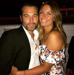 Linzey Rozon with her hubby Tim Rozon
