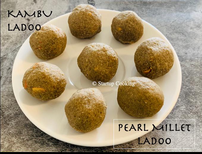 Kambu Ladoo Recipe   Pearl Millet Ladoo Recipe   Startup Cooking