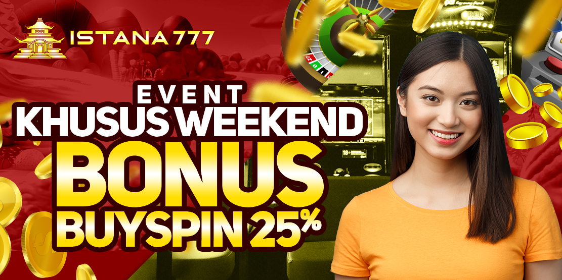 Bonus Buy Spin 25% Weekend