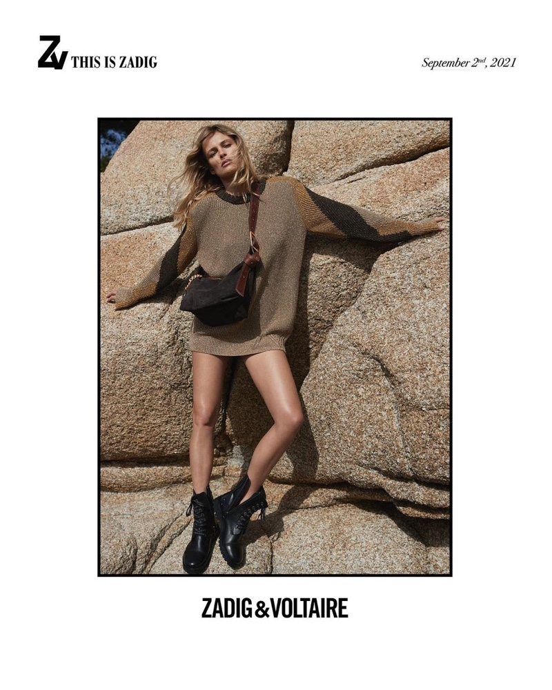 Zadig & Voltaire unveils fall-winter 2021 campaign.