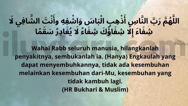 Doa untuk Orang Sakit dan artinya