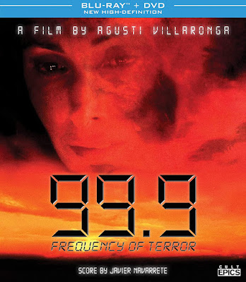 99.9: Frequency of Terror has been released on DVD/Blu-ray combo