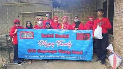 Komunitas Gayenge Tiang Jawi Purworejo Berbagi ke Pelosok Desa