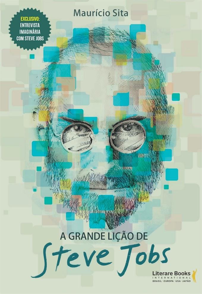 Livro mostra os inúmeros feitos de Steve Jobs e como ele driblou uma existência fadada ao fracasso
