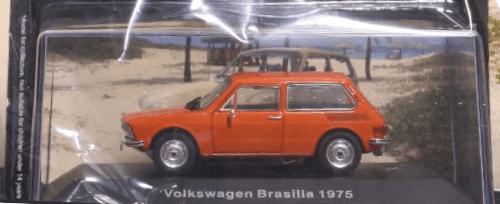 Volkswagen Brasilia deagostini, Volkswagen Brasilia 1975 1:43, Volkswagen Brasilia 1975, volkswagen offizielle modell sammlung, vw offizielle modell sammlung