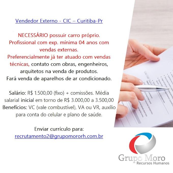 Vagas - Grupo Moro RH, Curitiba, PR  e Interior do Paraná