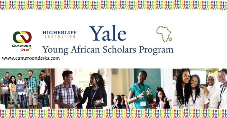 Yale Young African Scholars Program 2022 for African secondary school students.
