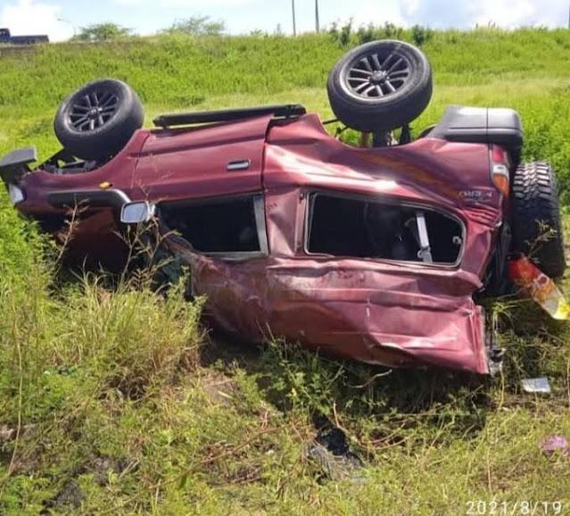 Terrible accidente de tránsito deja 5 muertos en Anzoátegui