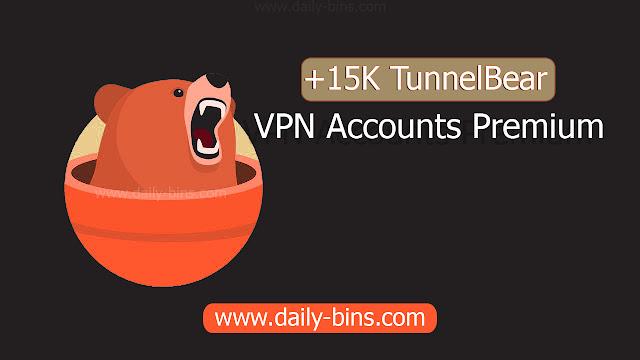TunnelBear VPN Accounts