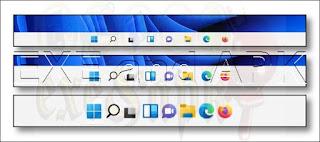 كيفية جعل شريط المهام Taskbar أكبر أو أصغر على نظام التشغيل Windows 11