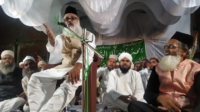 बाराबंकी : जश्ने ईद मिलादुन्नबी के मौके पर जलसे का आयोजन