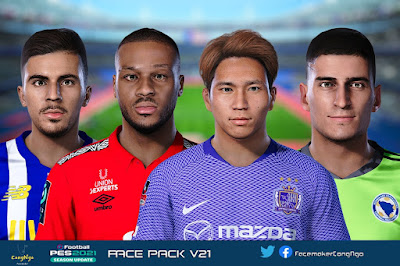 PES 2021 FacePack V21 by CongNgo