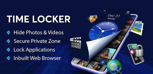 تحميل تطبيق Time Locker - Hide Pictures, Files & App lock للاندرويد