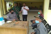 Sambang Kampung, Bhabinkamtibmas Polsek Pamarayan bersama Tiga Pilar Beri Pesan Kamtibmas